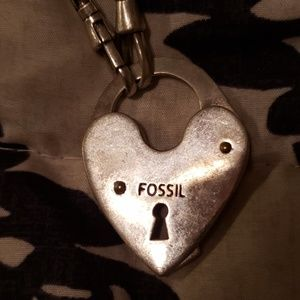 Euc fossil necklace